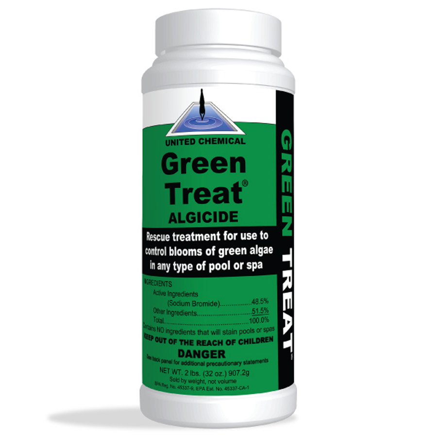 Green Treat® Algaecide 32oz - Pool Supplies